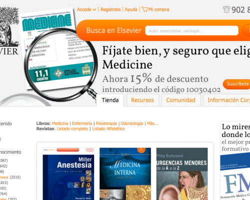 Elsevier - home page