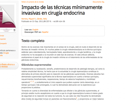 Elsevier - article view