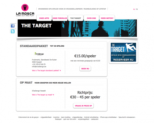 La mosca - the target - details